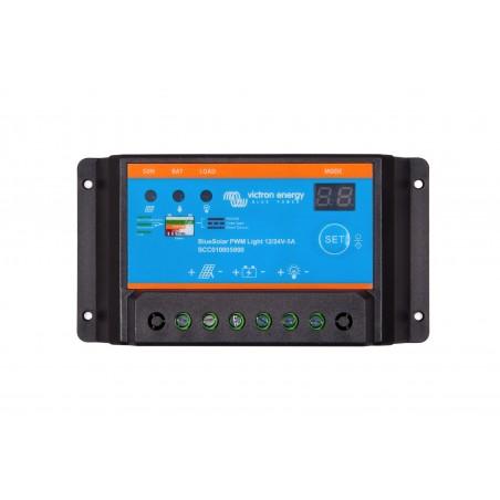 Régulateur BlueSolar PWM-Light 12/24V-5A