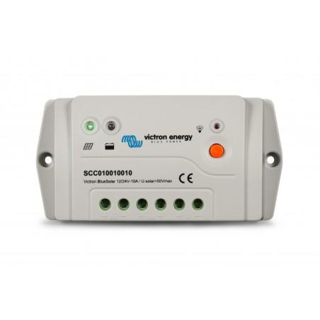 Régulateur PWM-Pro Charger 12/24V-10A