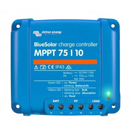 Régulateur BlueSolar MPPT 75/10