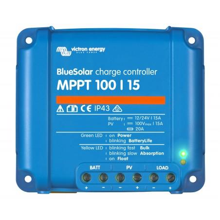Régulateur BlueSolar MPPT 100/15