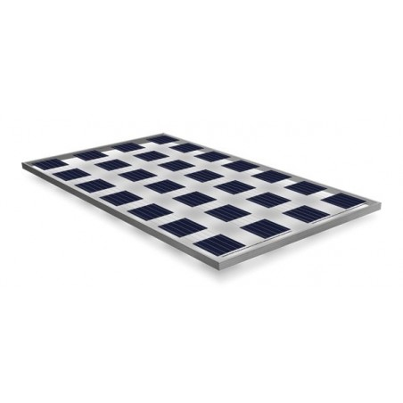 Panneau solaire BISOL 145W LUMINA Poly transparence 46,3%