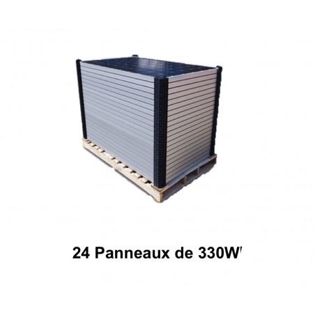 Lot de 24 Panneaux solaires BISOL XL 330 W Poly