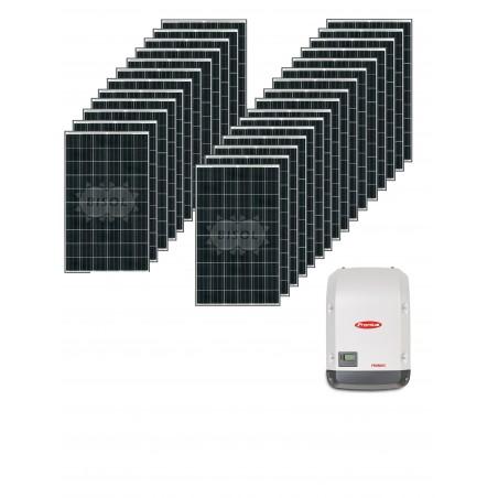 Centrale solaire 8.91 Kwc en autoconsommation sans stockage FRONIUS