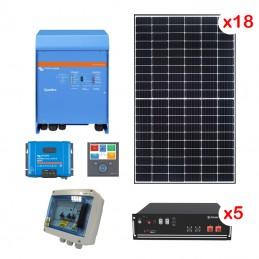 Centrale solaire 8.91 Kwc en autoconsommation avec stockage VICTRON