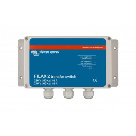 Filax 2 Relais de transfert CE 230V/50Hz-240V/60Hz