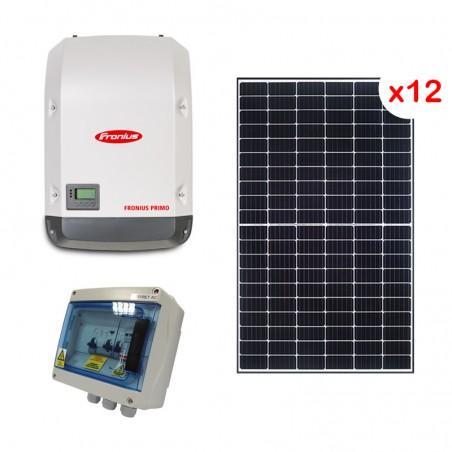 Centrale solaire 3.96 Kwc en autoconsommation sans stockage FRONIUS