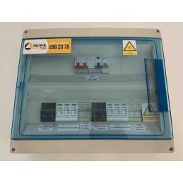 Coffret AC/DC 2 x MPPT - 200V/63A